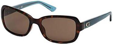 Guess GU7474 52E 56 Monturas de gafas, Marrón (Avana ScuraMarrone), 56.0 Unisex Adulto