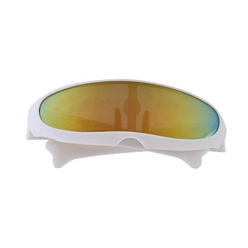 JuneJour Hunde Sonnenbrille Haustier Katze Hund Verstellbarer Riemen für UV-Sonnenbrillen Wasserdichter Schutz für kleine und mittlere Hunde