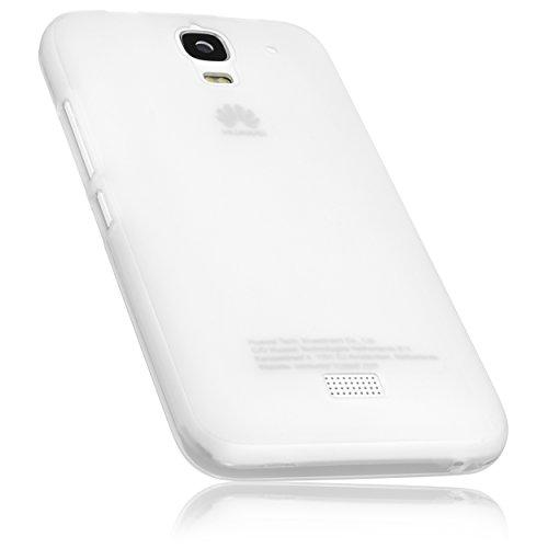 mumbi Schutzhülle für Huawei Y3 Hülle transparent weiss