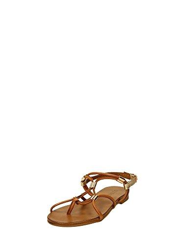 Inuovo - 6350, Scarpe col tacco con cinturino a T Donna Cuoio