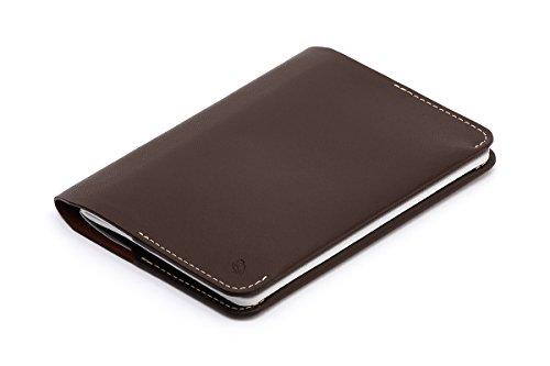 Portafoglio Bellroy Notebook Cover in pelle da uomo Mini, Java