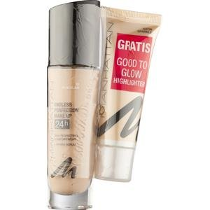 Manhattan Make-up Gesicht Endless Perfection Make Up + Good To Glow Nr. 68 Natural Bronce 1 Stk.