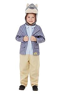 Smiffys 48784T1 - Disfraz de lujo con licencia oficial de Wind in The Willows, para niños, color azul, para niños de 1 a 2 años