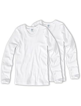 Sanetta T-Shirt langarm, unisex Doppelpack 301500 Gr.164