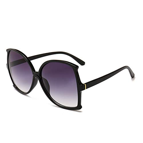 Yangjing-hl Damen Sonnenbrille Big Box Sonnenbrille Mode Sonnenbrille Sonnenschutz Sonnenbrille, 1, Einheitsgröße (Buddy Holly Kostüm)