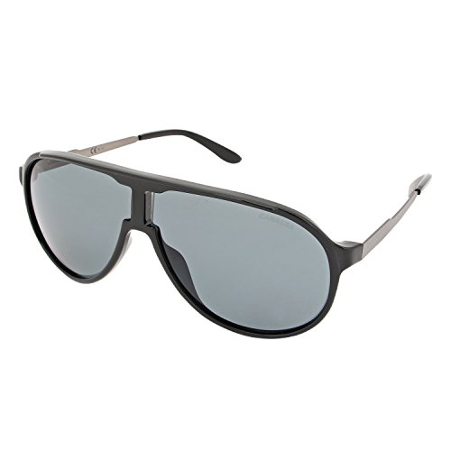 Carrera new champion ra lb0 occhiali da sole, nero (shbk smsdkru/grey pz), 62 unisex-adulto