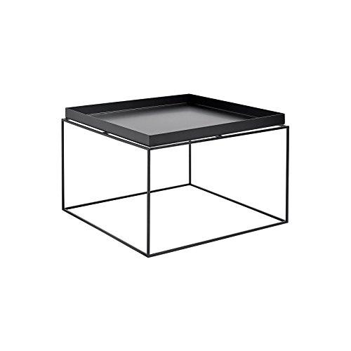 HAY Tray Table Kaffeetisch, schwarz 60x60x39cm (Schlafzimmer-kollektion Nachttisch)