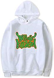 Billie Eilish Women Pullover Hoodie Cotton Long Sleeve Fashion Hooded Sweatshirt