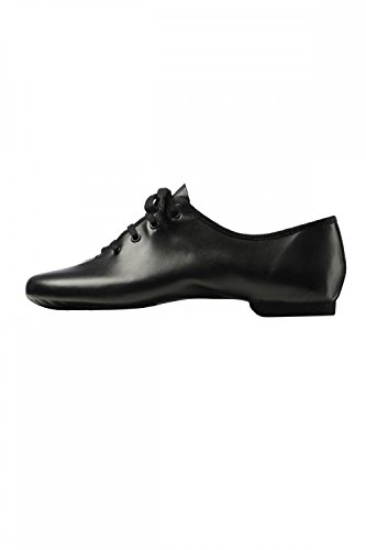 merlet-galion-chaussures-de-jazz-bi-semelles-en-cuir-43-noir