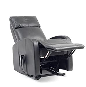 Berlin Single Motor Riser Recliner Chair Rise And Recline Chair Leather Effect