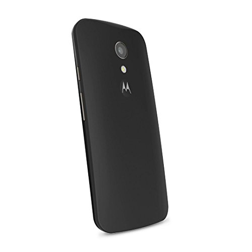 Motorola Color Shell Cover für Moto G 2. Generation Smartphone licorice (Motorola 2nd Generation Cover)