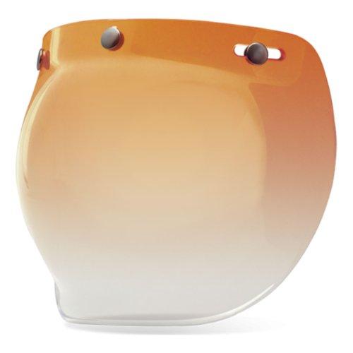 7018135 - Bell Custom 500 3-Snap Bubble Visor Amber Gradient Taille Bell