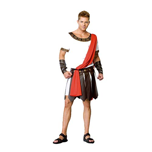esar Griechische Göttin Gladiator Samurai Kostüm Warrior,A-OneSize ()