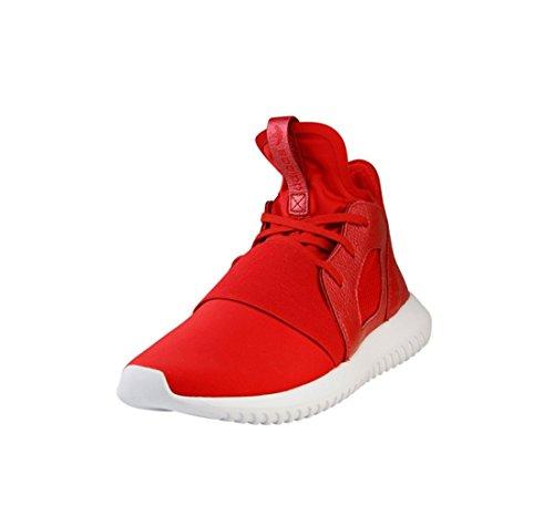 adidas  Adidas Tubular Defiant W, Jazz & Modern femme rouge/blanc