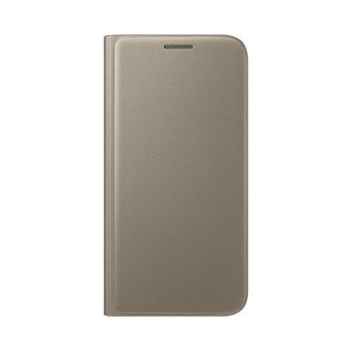 Samsung Flip Wallet Schutzhülle (geeignet für Galaxy S7) gold -