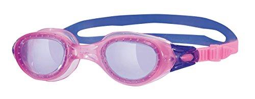 ZOGGS Phantom Schwimmbrille Kinder, Purple-Linse/Rosa- Rahmen