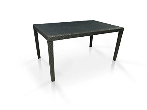 Ipae-progarden tavolo da giardino allungabile in polipropilene - modello queen