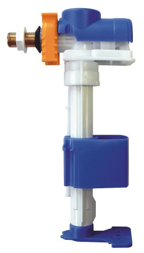 Regiplast 0700 Top Silence Robinet Flotteur NF hydraulique à Alimentation latérale, Blanc