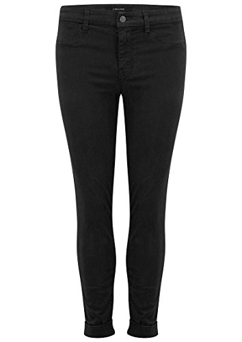 Used, J Brand - Anja Clean Cuffed Crop Jeans - Black, 27 for sale  Delivered anywhere in UK