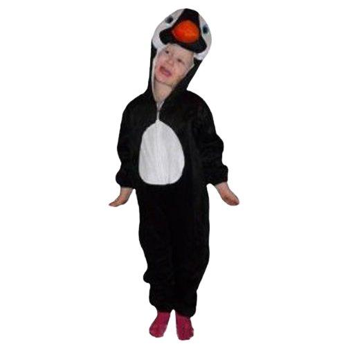 (Pinguin-Kostüm, AN46 Gr. 92-98, für Klein-Kinder, Babies, Pinguin-Kostüme Pinguine Kinder-Kostüme Fasching Karneval, Kinder-Karnevalskostüme, Kinder-Faschingskostüme, Geburtstags-Geschenk)