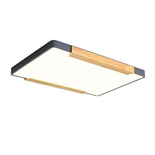 SXFYWYM Lámpara Techo LED Modern Log Ultra-Thin Dimmable