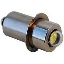 HQRP Bombilla LED de alta intensidad 3W 100lm / Módulo LED para Ryobi Ridgid 7811502 pilas Linternas 7-30V