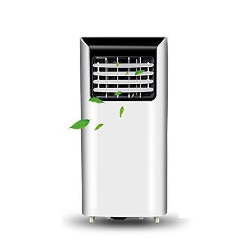 Mobile Klimaanlage JCOCO Tragbares Klimagerät mit Abluftschlauch/Luftentfeuchter/Lüfter, tragbares Klimagerät, Stand-Alone-Punktluftkühler, Zwei Geschwindigkeiten, mit Fernbedienung und Rädern, weiß (Dimension Gesehen Mobile)