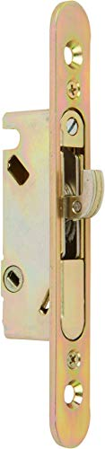 Rockwell Schiebetür Terrasse Einsteckschloss Oberfläche Halterung mit Frontplatte, für Schiebetüren Glas Türen, Französisch Türen, Tür Hardware -