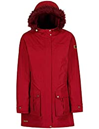 Regatta Sherlyn Waterproof and Thermoguard Insulated Faux Fur Hooded Veste  Femme 8155a4396145