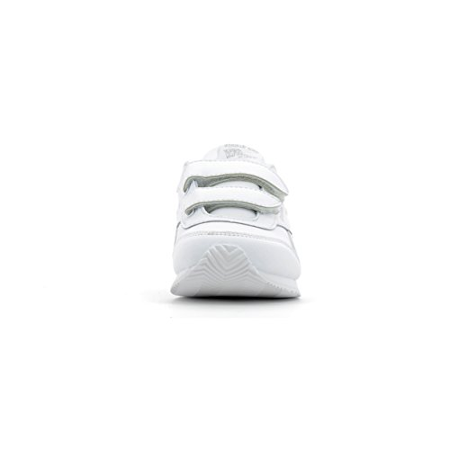 Reebok Royal Classic Jogger 2 2v, Chaussures de Running Compétition mixte enfant White/Silver Met