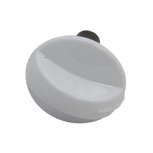 Cannon Cannon C00238201 Regler für Herd/Hauptofen, langer Schaft, Weiß (Regler E-herd Weißen)