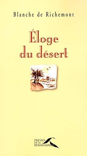 Éloge du désert par Blanche de RICHEMONT