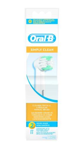 Oral-B Dual Clean Testine di Ricambio, Bianco, 2011