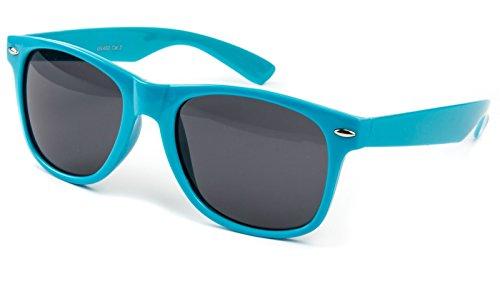 Nerdbrille Nerd Sonnenbrille Nerdbrille Sonnen Brille Piloten Classic Türkis