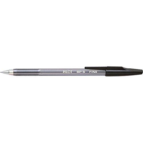 Pilot 001606 Penna a Sfera Bp-S, 0.7 mm, Confezione da 12, Nero