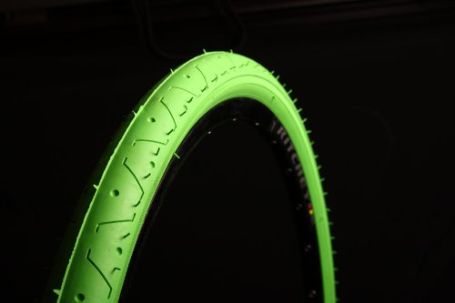 Curio UK Slick Neon Grün Mountain Bike Reifen Reifen ls07726x 2,10