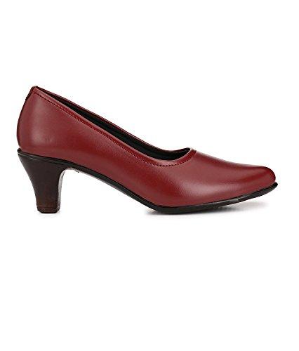 DEEANNE LONDON Women's Suede Block Heel Pump
