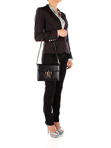 Borse a Spalla Dolce&Gabbana Donna - Pelle (BB6310AI285) Nero