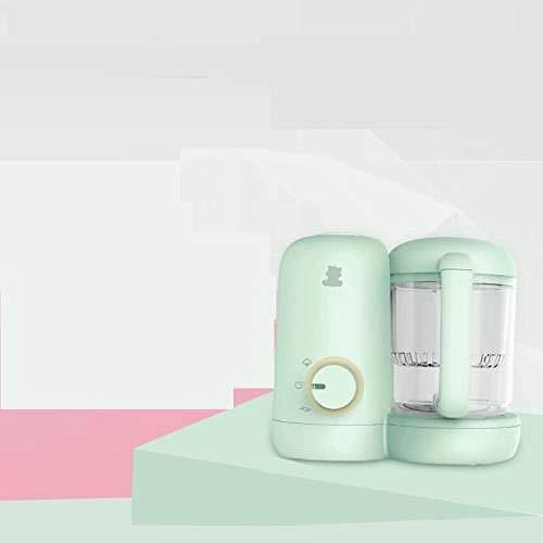 Babynahrungsmaschine, Multifunktionsbaby, Kaffeemühle, Dämpfen, Rühren, Nahrungsergänzungsmittel-Grün