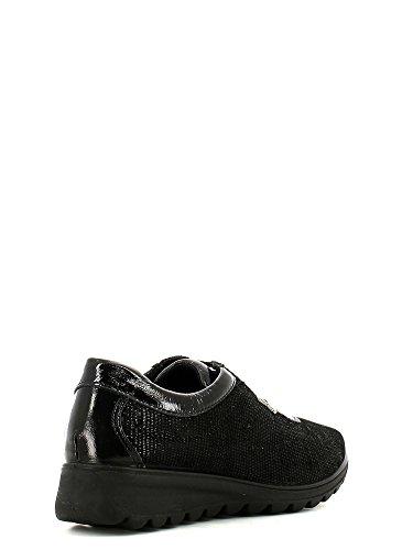 ENVAL , Chaussures de ville à lacets pour femme Noir - Nero