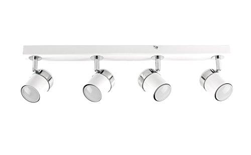 MiniSun – Moderno plafón para el techo, con 4 focos ajustables y...