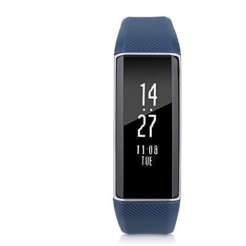 Zeblaze Zeband Bluetooth 4.0 Cardiofrequenzimetro, Fitness Trackercontapassi