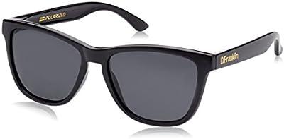 D.Franklin ROOSEVELT SHINY BLACK / BLACK - gafas de sol, unisex, color negro, talla UNI