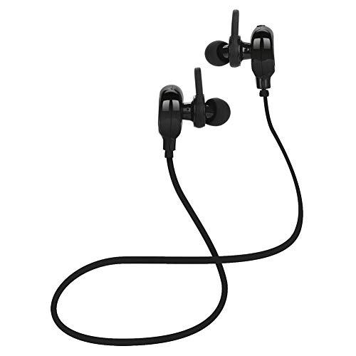 GAOWJ Auriculares Bluetooth, Auriculares Deportivos inalámbricos a Prueba de Agua IPX6 Auriculares, Estéreo HiFi Bass CVC6.0 Cancelación de Ruido en Auriculares con micrófono