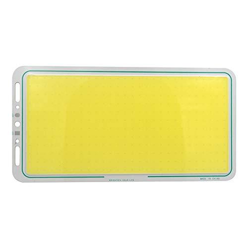 Dicomi 12V LED Panel Strip COB Light Lampe Ausgewogen für auto Beleuchtung Oder Spezielle Zwecke 220X120mm 70W 7000LM (6000-6500K) Kaltes Weiß -