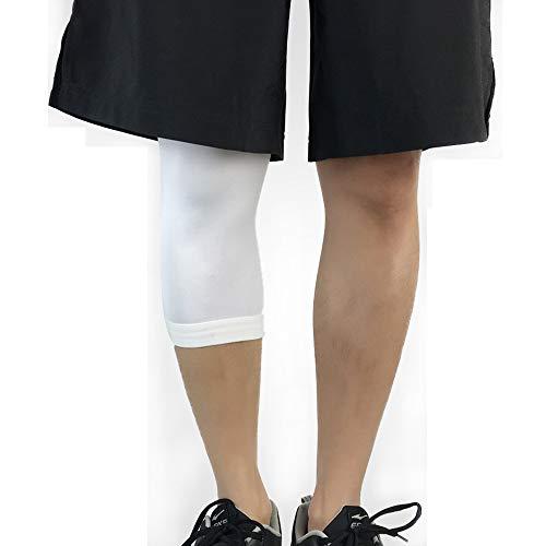 SOBER Knieschoner,Kniekompressionshülse,Atmungsaktiv Crashproof Antislip Knieschützer Brace Wrap Tape,UnterstüTzung Für Laufen,Heben,Fitnessstudio,Übung (Paar)