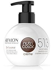 Revlon Nutri Color Creme - Soin Du Cheveu - 513 Deep Chestnut - Après Shampooing 250ml