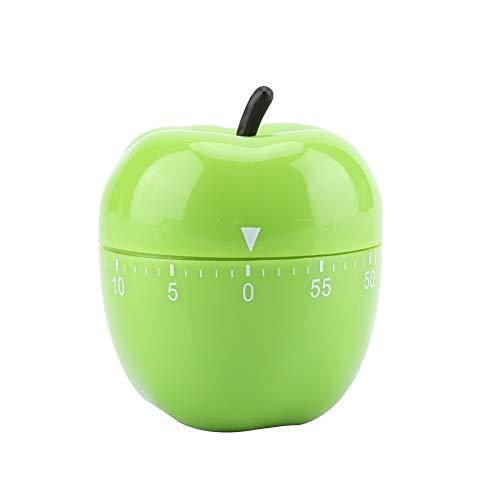 7°MR Timer Cucina Timer meccanico da cucina Simpatici contatori a forma di mela for utensili da cucina for cucinare a casa