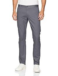 Dockers - Pantalones de sarga ajustados para hombre