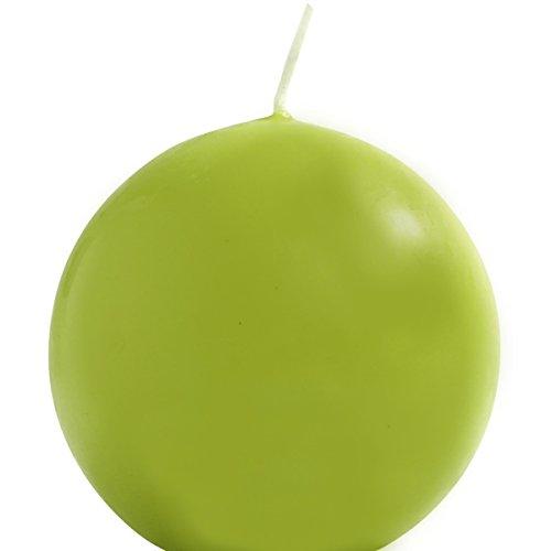 Kugelkerze 70mm, 1 Stück. EIKA in grün, hellgrün, PISTAZIE -59